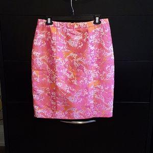 Pink Tartan Skirt